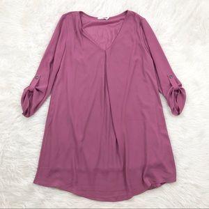 Lush Purple Chiffon Dress